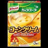 クノール カップスープ たっぷりコーンとけこむ コーンクリーム(ポタージュ)