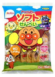 栗山米菓 アンパンマンのソフトせんべい