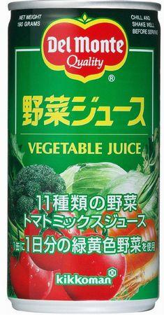 デルモンテ 野菜ジュース190ml