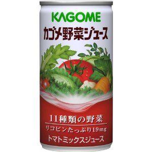 カゴメ 野菜ジュース(食塩入り)190g