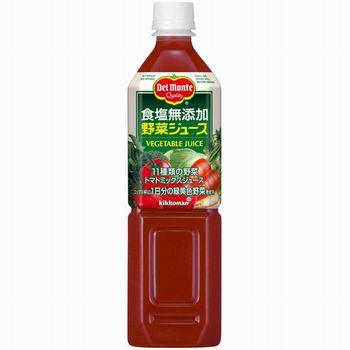 デルモンテ 野菜ジュース 900g (食塩無添加)