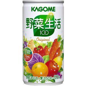 カゴメ 野菜生活100 190g