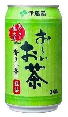 伊藤園 おーいお茶・緑茶 340ml缶