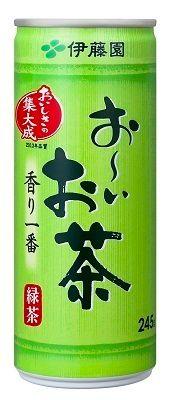 伊藤園 おーいお茶・緑茶 245g缶