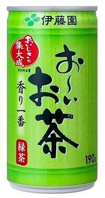 伊藤園 おーいお茶・緑茶 190g缶