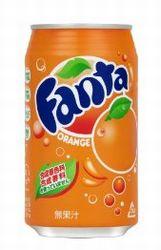 コカコーラ ファンタ オレンジ 350ml缶