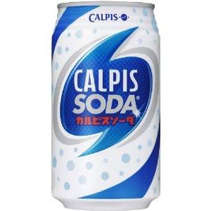 カルピス カルピスソーダ350ml缶