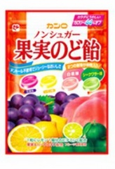 カンロ ノンシュガー 果実のど飴