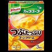 クノール カップスープ つぶたっぷり コーンクリーム