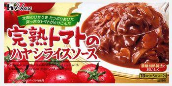 ハウス 完熟トマトのハヤシライスソース 184g(10個)