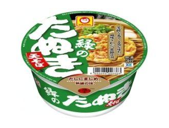 マルちゃん 緑のたぬき 天そば 東日本仕様