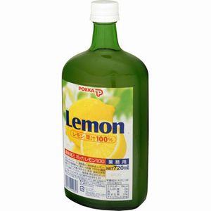 ポッカ 100%レモン 720ml