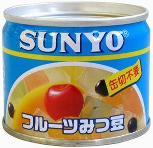 サンヨー堂 フルーツみつ豆