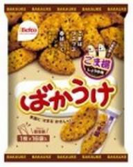 栗山米菓 ばかうけ ごま揚しょうゆ味