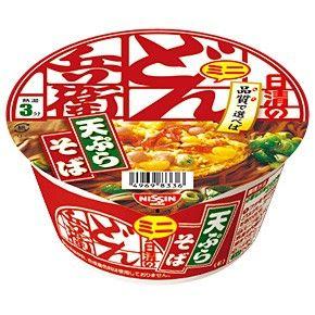 日清食品 どん兵衛 天ぷらそば ミニ(東日本仕様)