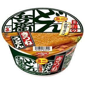 日清食品 どん兵衛 きつねうどん ミニ (東日本仕様)