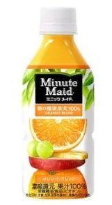 コカコーラ ミニッツメイド 朝の健康果実 オレンジ・ブレンド