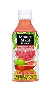 コカコーラ ミニッツメイド 朝の健康果実 ピンクグレープフルーツ・ブレンド
