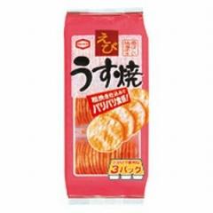 亀田製菓 85g えびうす焼