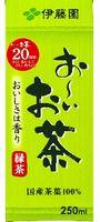 紙パック 伊藤園 おーいお茶 250ml