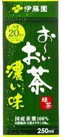 紙パック 伊藤園 おーいお茶 濃い味 250ml