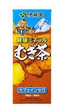 紙パック 伊藤園 天然ミネラル麦茶 250ml