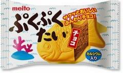名糖 ぷくぷくたい チョコレート