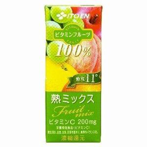紙パック 伊藤園 ビタミンフルーツ 熟ミックス