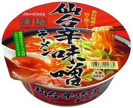 ニュータッチ 凄麺 仙台辛味噌ラーメン