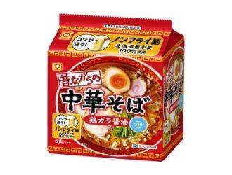 マルちゃん 昔ながらの中華そば 5食