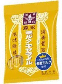 森永 ミルクキャラメル袋