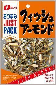 なとり おつまみ JUSTPACK フィッシュアーモンド