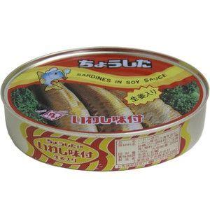 田原缶詰 ちょうした いわし味付 生姜入