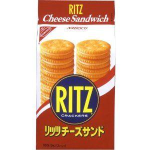 ヤマザキナビスコ リッツ チーズサンド