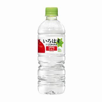 日本コカ・コーラ い・ろ・は・す りんご(いろはす I LOHAS) 555mlペット