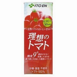 紙パック 伊藤園 理想のトマト 200ml