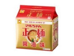 東洋水産 マルちゃん正麺 醤油味 5食パック