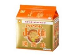 東洋水産 マルちゃん正麺 味噌味 5食パック