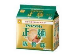 東洋水産 マルちゃん正麺 豚骨味 5食パック
