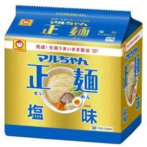 東洋水産 マルちゃん正麺 塩味 5食パック