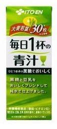 紙パック 伊藤園 毎日1杯の青汁 200ml