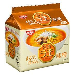 日清食品 日清ラ王 味噌 5食