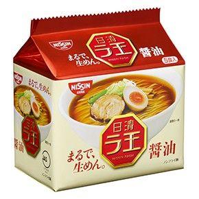 日清食品 日清ラ王 醤油 5食