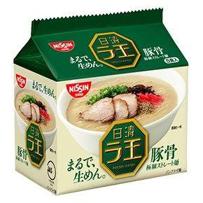 日清食品 日清ラ王 豚骨 5食
