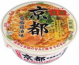 ニュータッチ 凄麺 京都背脂醤油味